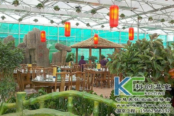 建设哪种温室大棚生态餐厅造价
